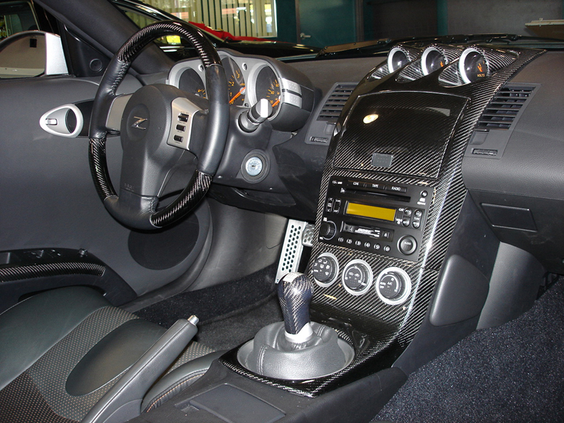 Apsis lamination wood dashes for 350z interior replacement parts