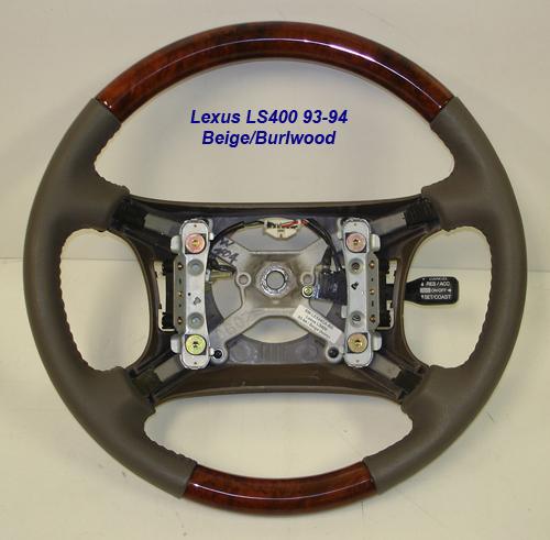 1997 lexus ls400 wood steering wheel